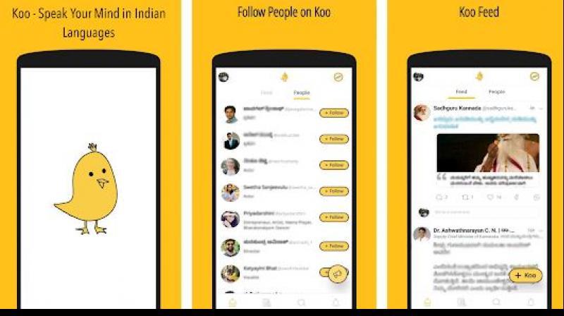 Koo - Twitter-like App in India
