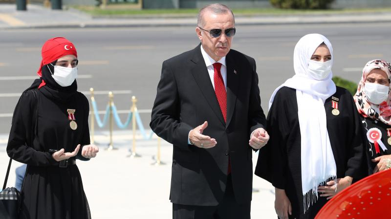 President Recep Tayyip Erdogan, who has greatly concentrated powers into his own hands during 17 years in office, vowed this month to bring social media platforms under control following a series of tweets that allegedly insulted his daughter and son-in-law. (Photo | AP)
