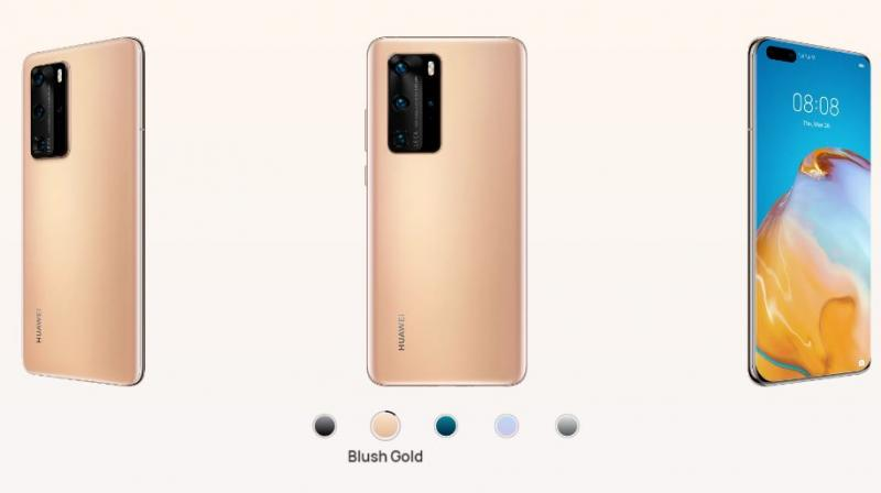 Analysts at Canalys said Thursday that Huawei shipped 55.8 million devices in the second quarter of 2020. While the figure was down 5% compared with a year ago, it was a smaller decline than rival Samsung, which saw smartphone sales slide 30% to 53.7 million. (Image of Huawei P40 Pro | Huawei)
