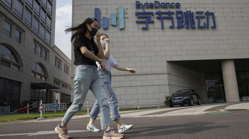 The legal challenge by employees of ByteDance's TikTok US operations will be focused on worker rights, not on the national security claims underlying Trump's order. (Photo | AP)