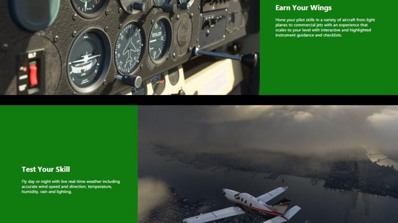 Microsoft Flight Simulator Gets New Trailer Showcasing Game History