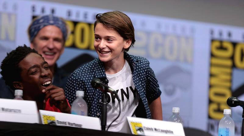 Some posts that appeared on 15-year-old Noah Schnapp's Twitter handle after it was hacked included sexual content, racial slurs and talk about suicide and have since been deleted. (Photo | Wikimedia Commons - Gage Skidmore)
