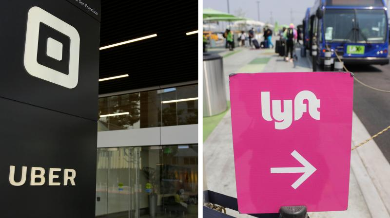 """Shortly before the appeals court decision, Lyft said it would suspend its rideshare service in California rather than classify drivers as employees entitled to benefits. """"This change would... necessitate an overhaul of the entire business model—it's not a switch that can be flipped overnight,"""" Lyft said in a blog post. (Photos 