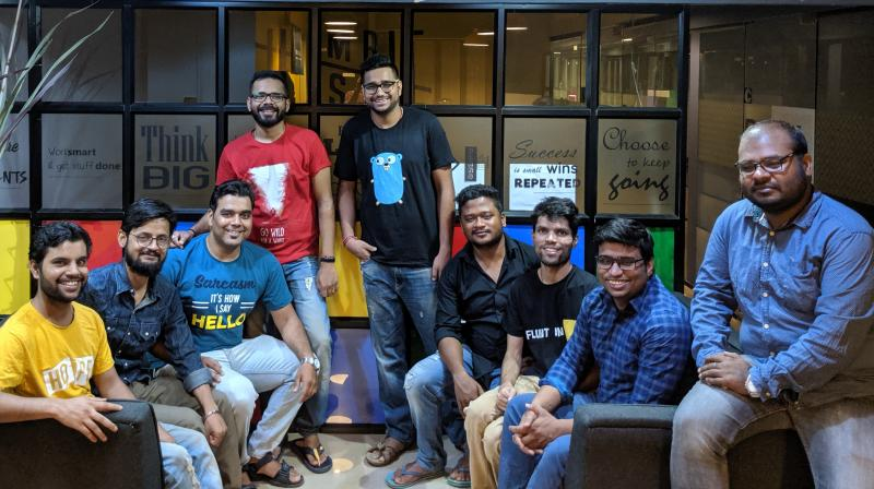 KhaaliJeb is currently offering one month's free membership if you refer a friend. You can also purchase a three-month membership of their discount programme at an offer price of Rs 49.Seen here, the KhaaliJeb team which includes Rahul Kumar, Pratham Devang, Sudhanshu Gaur, Sumit Sinha, Vishal Kumar, Wilson Birua, Aman Verma, and Prakash Kumar. (Photo | KhaaliJeb)