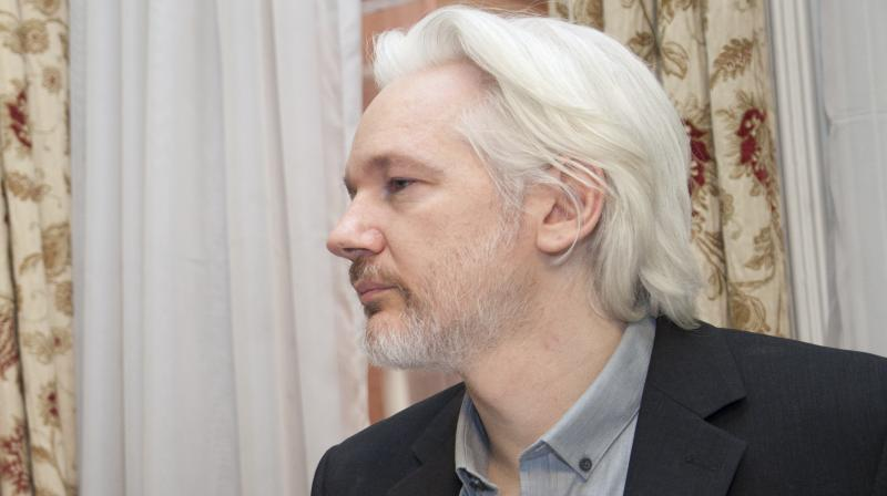 """""""If Julian Assange is prosecuted it could have a chilling effect on media freedom, leading publishers and journalists to self-censor in fear of retaliation,"""" said Amnesty's Europe Director, Nils Muiznieks. (Photo 