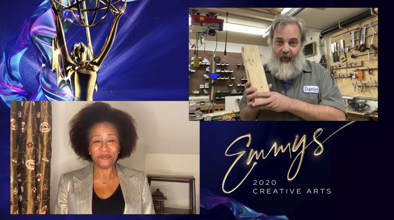 Wanda Sykes presents the Emmy for Outstanding Animated Program to Dan Harmon for