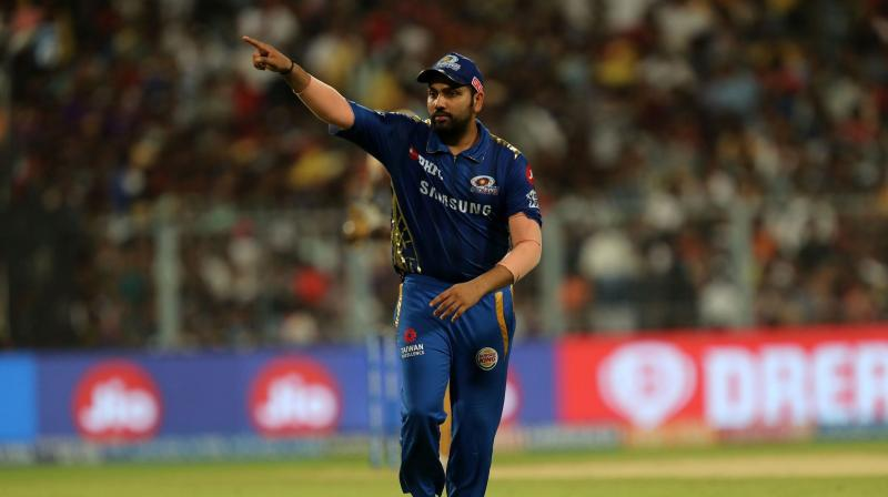 """The first thing Ponting told me is that when you are captaining you can't be thinking about how you want them to do it. Always listen to them, take it in your stride and then filter it and give it to them. It was great learning for me when he was a part of Mumbai,"" Rohit Sharma said. (Photo 
