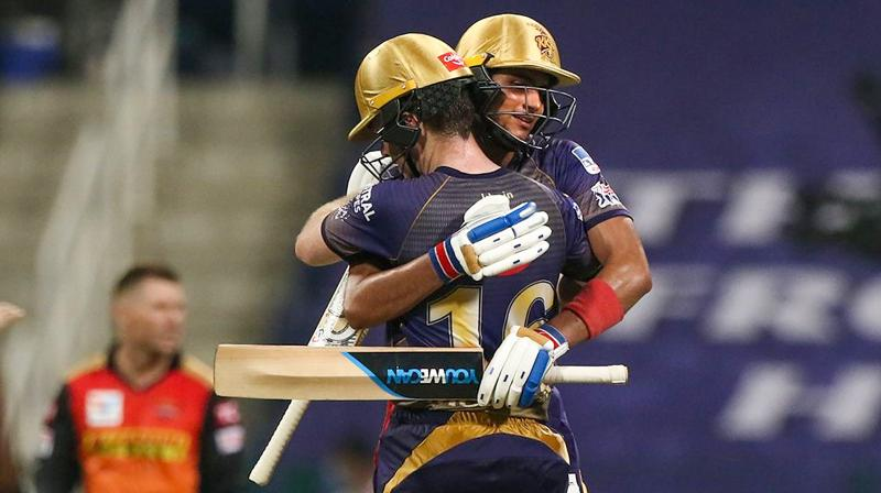 The 21-year-old opener Shubman Gill anchored the chase perfectly as Morgan counterattacked to seal the issue in KKR's favour with two overs to spare, after their opening game debacle. (Photo | PTI)