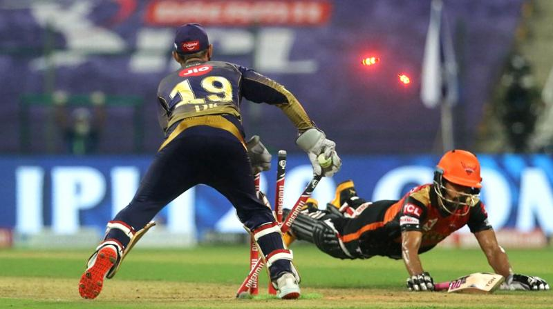 KKR ease to seven-wicket win over Sunrisers
