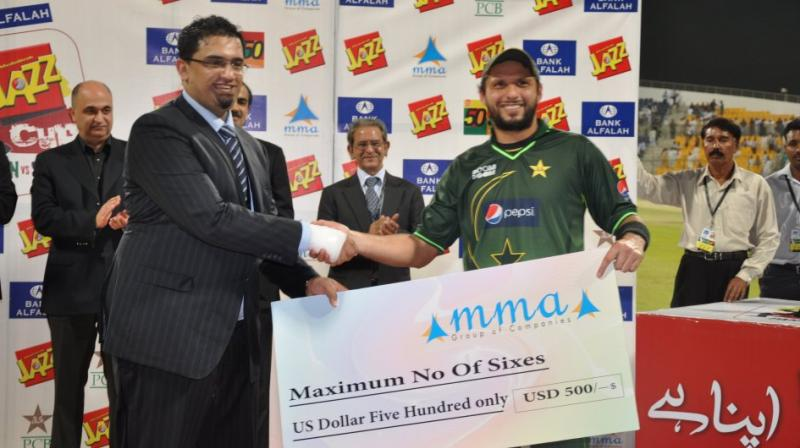 In a report published in Pakistani media, Shahid Afridi said that the IPL is a big platform for any player to get exposure, gain experience and improve. The reason behind the absence of Pakistani players in the IPL is not cricketing, he added referring to the strained political relationship between India and Pakistan. (Photo | Wikimedia Commons - Lollywoodcafe)