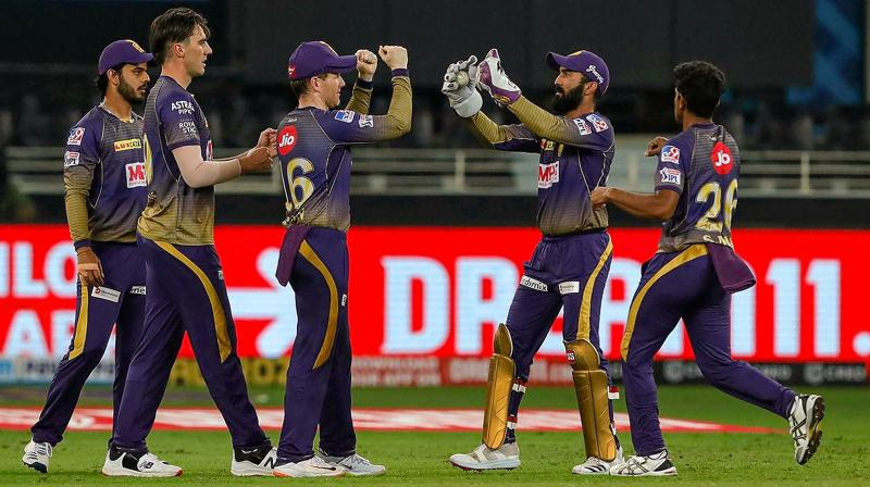 For KKR, this was their second successive victory and they jumped to second spot behind Delhi Capitals. (Photo | PTI)