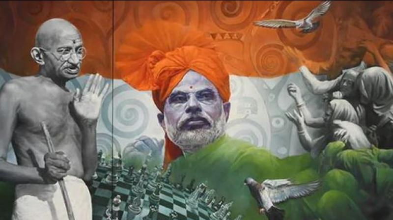 The Union Culture Ministry organised the e-auction from September 14 to sell a total of 2,772 mementos gifted to Prime Minister Narendra Modi. (Photo: File)