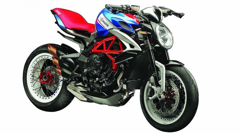 Like other MV Agusta motorcycles, the Dragster series will be brought to India via the completely built up or CBU route.