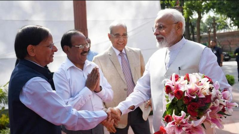Doval has also been allocated the issue of talks with the National Socialist Council of Nagaland (NSCN) separatists. (Photo: ANI)