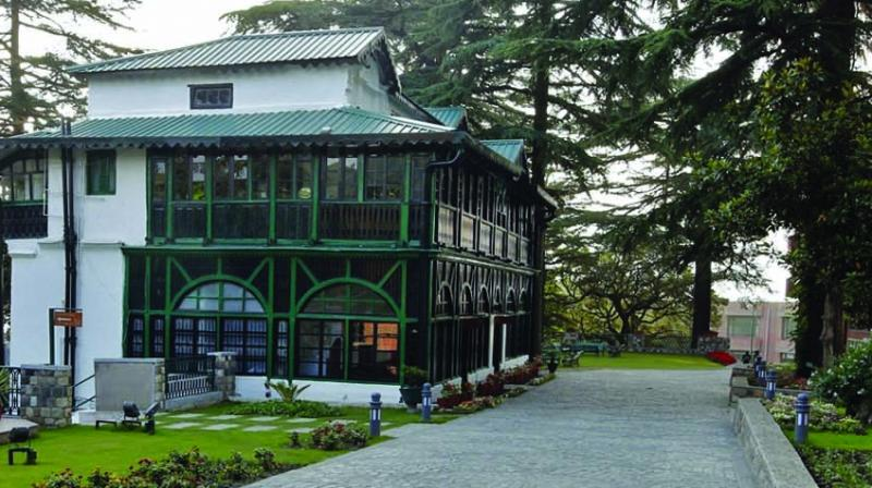 The Lal Bahadur Shastri National Academy of Administration in Mussoorie, where the author received his training.