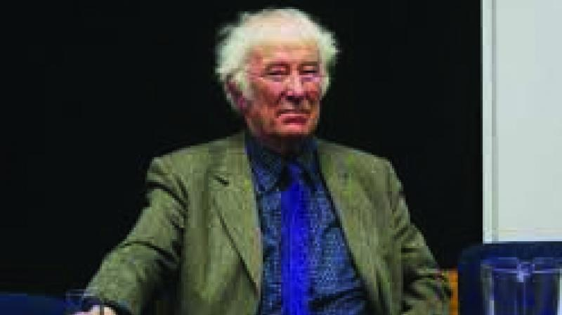 Heaney (1939-2013) received the 1995 Nobel Prize in Literature