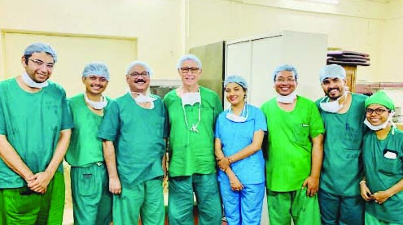 The team that operated on the patient.