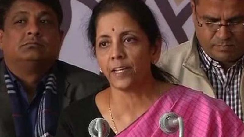 Sitharaman said that the NDA got a better deal then what was being negotiated by the UPA government.  (Photo: File)