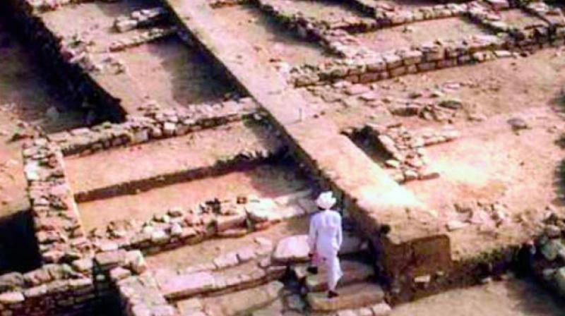 The findings put Indus Valley Civilisation much ahead of other ancient civilisations such as the ancient Egyptians (7,000 BC to 3,000 BC) and the Mesopotamian civilisation (6,500 BC to 3,100 BC). Photo: DC file
