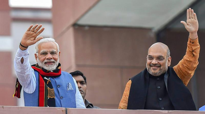 The manner in which the BJP has been run by the Narendra Modi-Amit Shah duo, the party has slowly begun to isolate itself from other political parties, including its own alliance partners. (Photo: PTI)