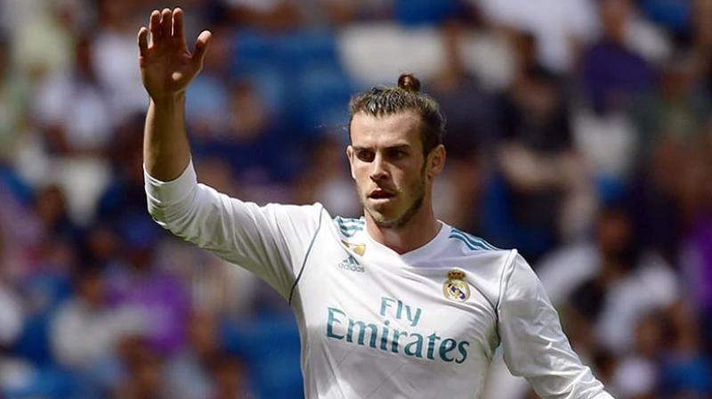 Coach Zinedine Zidane said Gareth Bale will remain at Real Madrid this season. (Photo: AFP)
