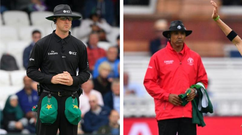 The International Cricket Council on Tuesday named Michael Gough of England and Joel Wilson of the West Indies in the Emirates ICC Elite Panel of Umpires for 2019-20 season following the annual review and selection process. (Photo:AFP)