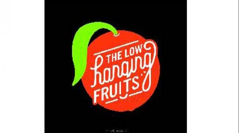Her new blog The Low Hanging Fruits pokes fun at these overused phrases with some creative typography and illustrations.