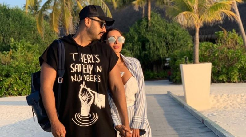 Arjun Kapoor and Malaika Arora. (Photo: Instagram)