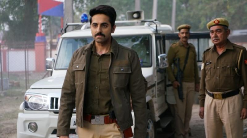 Ayushmann Khurrana in the still from Article 15.