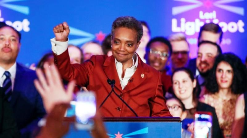 Lightfoot headed a panel investigating the city's policing problems and held a number of appointed positions in city government. (Photo: AFP)