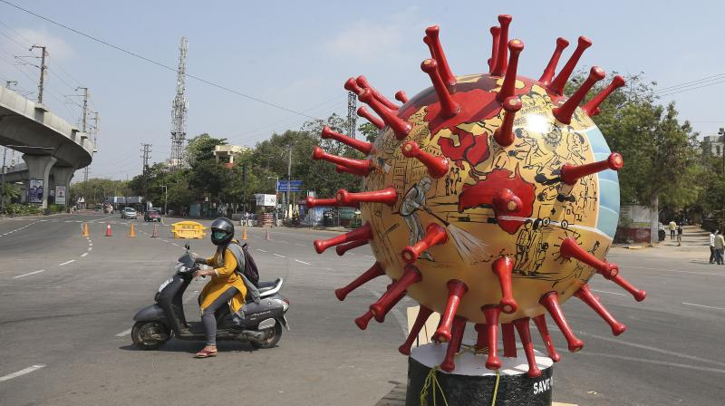 The pandemic has finally found its unique Indian flavour. (AP)