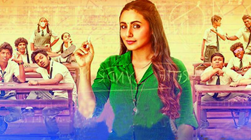 A still from 'Hichki'.