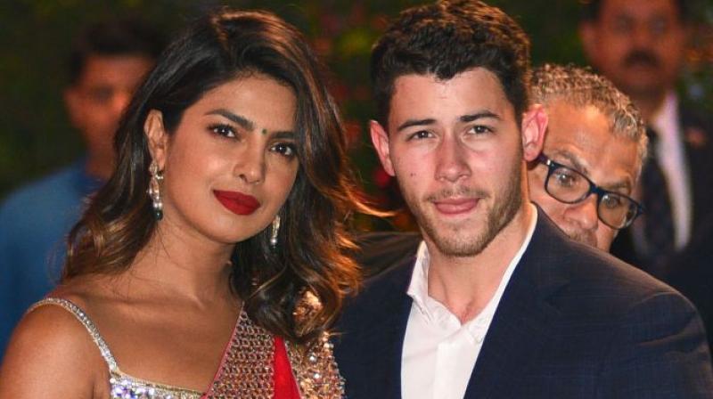 Priyanka Chopra and Nick Jonas in Mumbai recently.