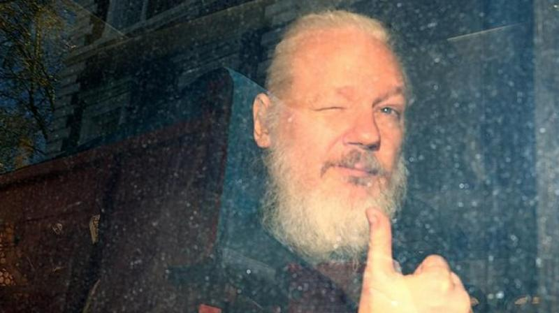 The treaty further bars the US from prosecuting Assange for any other crime beyond those outlined in the extradition request. (Photo: ANI)