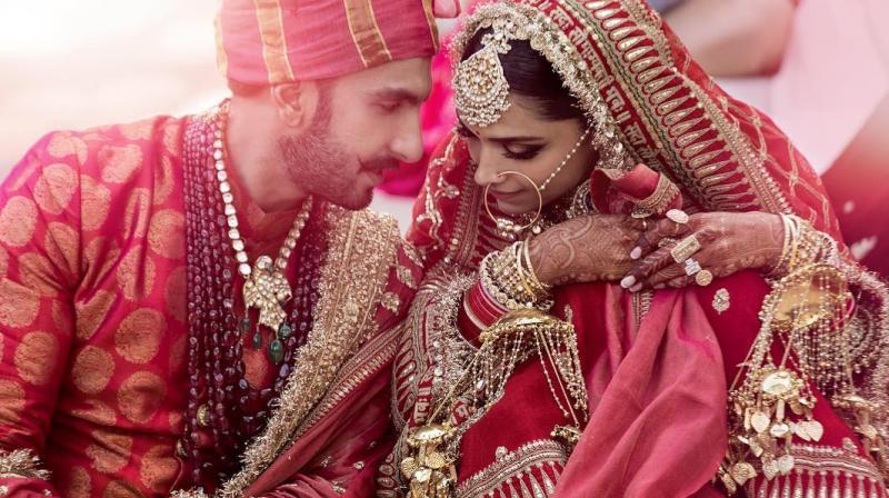 Ranveer Singh and Deepika Padukone got married twice