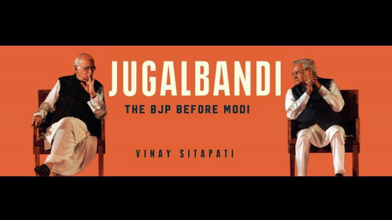 Cover page of Vinay Sitapati's 'Jugalbandi'. (Twitter/@vinay_sitapati)