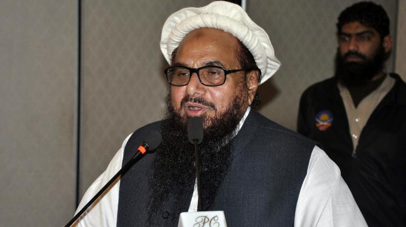 Jamat-ud-Dawa chief Hafiz Saeed (Photo: AP)