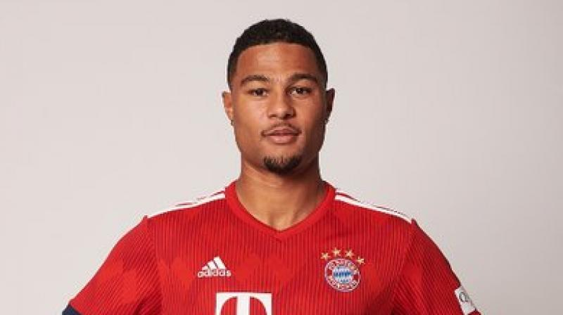 Bayern Munich player Serge Gnabry feels their campaign would not be a satisfactory one if they are not able to win the Bundesliga title. (Photo: Twitter)