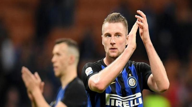 24-year old Milan Skriniar joined the club in 2017, and has played all the 38 games in the league. (Photo: ANI)