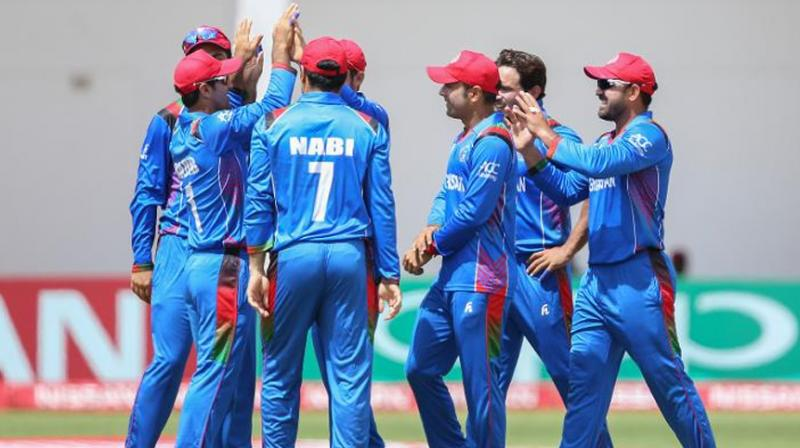 Afghanistan penetrated through the 2019 ICC World Cup qualifiers in Zimbabwe to be the ultimate winners of the tournament, and hence qualified for the England and Wales-based showpiece event. (Photo: AFP)