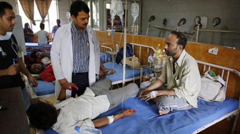 Dengue has claimed one life so far in the city in the running season of vector-borne diseases. (Photo: PTI/File)