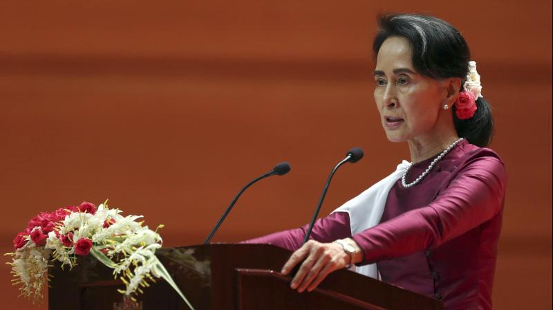 Suu Kyi is the first person to have her honorary Canadian citizenship revoked. (Photo: AP | File)