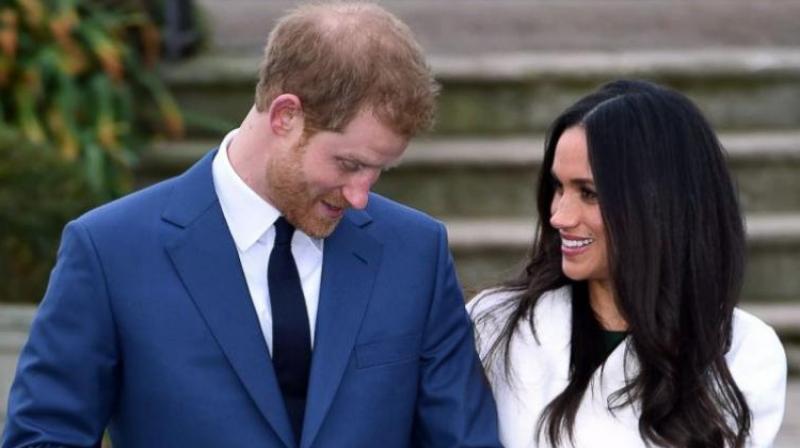 Prince Harry and Meghan Markle. (Photo: AP)