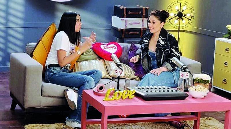 Prajakta Koli at Kareena Kapoor Khan's show