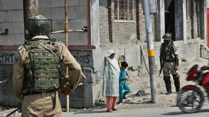 Restrictions were imposed in Srinagar city on Friday after posters issued by the separatists called on people to march to the local United Nations military observer group office, officials said. (Photo: File)