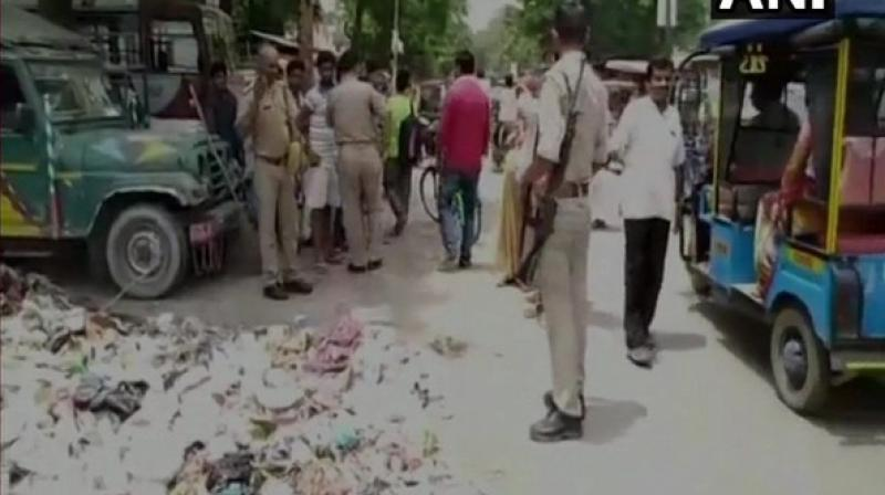 Police learned about the incident after they were alerted by the locals. (Photo: ANI)