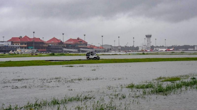 Flight operations at Cochin International Airport in Kerala will resume flight operations from Sunday noon, which were stalled since Friday due to heavy rains in the state, airport officials said on Saturday. (Photo: File)