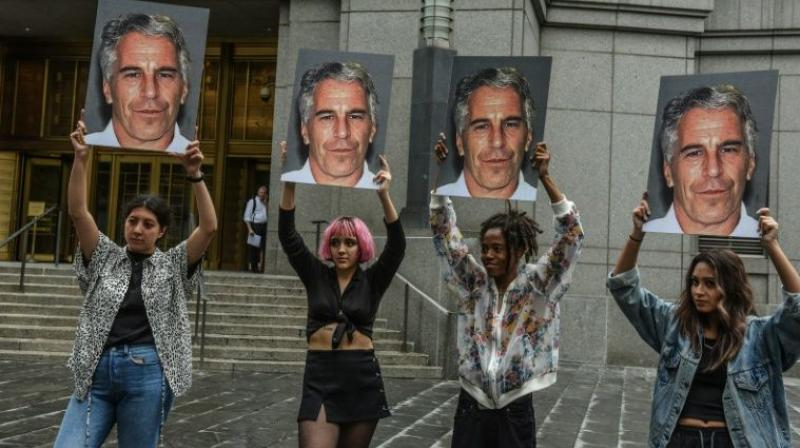 A month before Jeffrey Epstein's death by apparent suicide in a New York prison, a federal indictment cast light on what prosecutors said was a sprawling network of high school and college students lined up by young recruiters and then forced to satisfy the hedge fund billionaire's insatiable sexual appetite. (Photo: File)