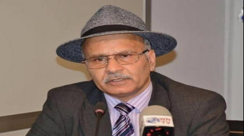 Dr. Shabir Choudhry, president of the Foreign Affairs Committee of the United Kashmir Peoples National Party. (Photo: ANI)