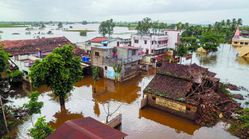 However, the Pune divisional commissioner has not organised a video conferencing owing to the relief and rehabilitation work in flood-hit Kolhapur, Sangli and Satara. (Photo: PTI)
